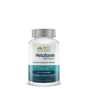 MELATONIN PRÉ-CURSOR DO SONO 500mg - 60 caps - FAUNA E FLORA
