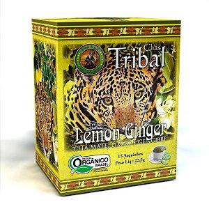CHÁ ORGÂNICO LEMON GINGER 15 SAQUINHOS 22,5G - TRIBAL