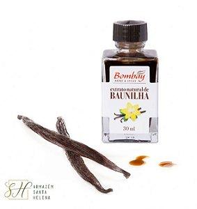 EXTRATO DE BAUNILHA 30ML - BOMBAY