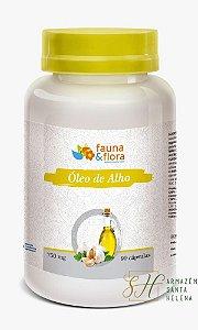 ÓLEO DE ALHO 750MG 90 CÁPSULAS - FAUNA E FLORA