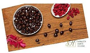 CRANBERRY COM CHOCOLATE 70% DRAGEADO
