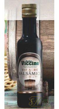 VINAGRE BALSÂMICO 250ML - SR VICCINO (VIDRO, 5% ACIDEZ, SEM CONSERVANTES)