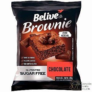 BROWNIE DE CHOCOLATE ZERO 40G - BELIVE