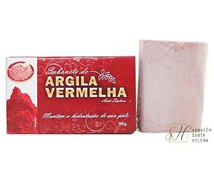 SABONETE NATURAL ANTISSÉPTICO DE ARGILA VERMELHA 90G - BIONATURE
