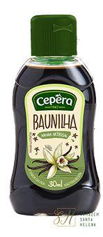 AROMA DE BAUNILHA 30ML - CEPÊRA