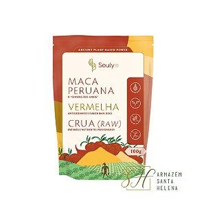 MACA PERUANA VERMELHA 100G - SOULY