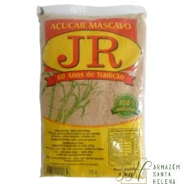 AÇÚCAR MASCAVO 100% NATURAL 1KG - JR