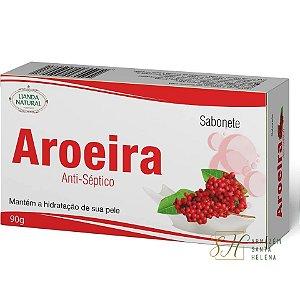 SABONETE NATURAL ANTISSÉPTICO DE AROEIRA 90G - LIANDA NATURAL