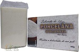 SABONETE NATURAL ANTISSÉPTICO DE PORCELANA DOLOMITA 90G - BIONATURE
