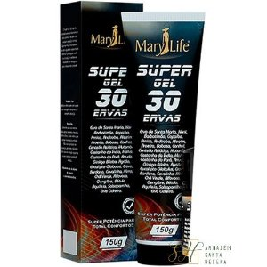 SUPER GEL 30 ERVAS 150G - MARY LIFE