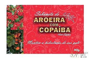 SABONETE NATURAL ANTISSÉPTICO DE AROEIRA COM COPAÍBA 90G - BIONATURE