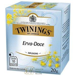 CHÁ ERVA DOCE 10 SAQUINHOS 20G - TWININGS