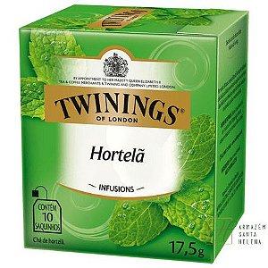 CHÁ DE HORTELÃ 10 SAQUINHOS 17,5G - TWININGS