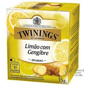 CHÁ LIMÃO COM GENGIBRE 10 SAQUINHOS 15G - TWININGS