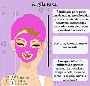 ARGILA ROXA 100G