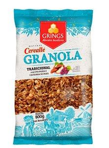 GRANOLA TRADICIONAL CEREALLE 800G - GRINGS