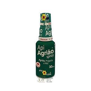APIAGRIÃO SPRAY PRÓPOLIS, MEL E AGRIÃO 30ML - APIS FLORA