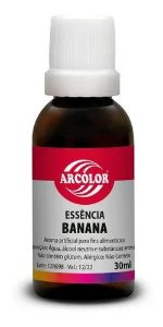 ESSÊNCIA DE BANANA 30ML - ARCOLOR