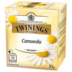 CHÁ DE CAMOMILA 10 SACHÊS - TWININGS