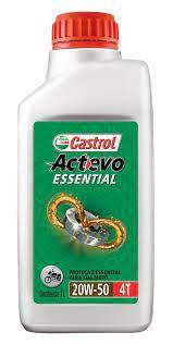 CASTROL ACTEVO ESSENCIAL 20W50 4T OLEO DE MOTO