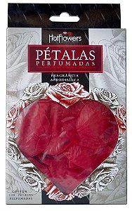 Pétalas De Rosas Vermelhas Perfumadas - Hot Flowers