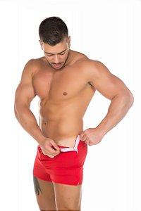 Cueca Sensual Striper Vermelho