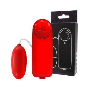 Bullet Vibrador Multivelocidades Vermelho