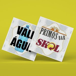 Ficha de Bar Personalizada 500UN