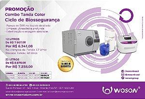 COMBO  -  CICLO DE BIOSSEGURANÇA  - AUTOCLAVE TANDA COLOR 23L