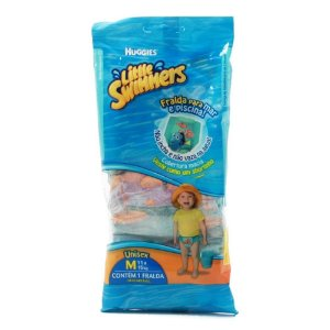 FRALDA DESCARTAVEL HUGGIES LITTE SUMMERS M