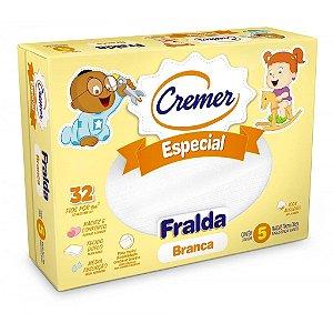 FRALDA CREMER ESPECIAL BRANCA