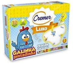 FRALDA CREMER LUXO DA GALINHA PINTADINHA