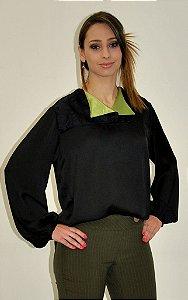 Camisa Silk Preta