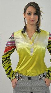 Camisa Mix Cetin e Microfibra