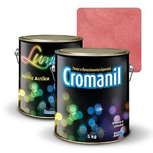 KIT Cimento Queimado Galão (5kg)  + 1 Verniz Galão 3,6 litros  - Cor OUTONO