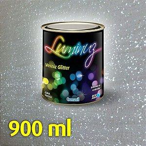 PRATA - Luminuz Verniz Glitter  Lata 1/4 (1.250 kg)