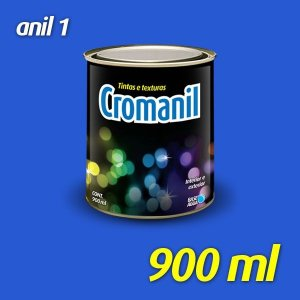 ANIL 1 - Cromanil Tinta Acrílica Fosca 900 ml