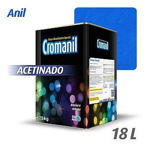ANIL - Cromanil Tinta Acrílica Acetinado Lata 18 litros