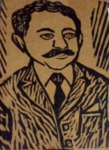 Literatura de cordel em caixa – Leandro Gomes