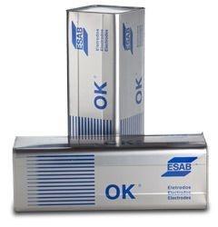 Eletrodo OK 67.75 2,50 mm caixa com 1 kg.