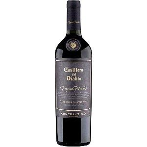 Vinho Casillero del Diablo Reserva Privada Cabernet Sauvignon - Tinto Seco - 750ml