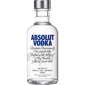Vodka Absolut Natural - 200ml