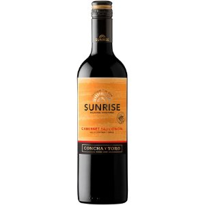 Vinho Sunrise Cabernet Sauvignon - Tinto Meio Seco - 750ml