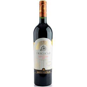 Vinho Tricyclo Cabernet Sauvignon - Merlot - Cabernet Franc - Tinto Seco - 750ml