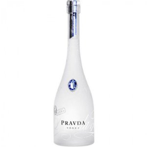 Vodka Pravda Natural - 750ml