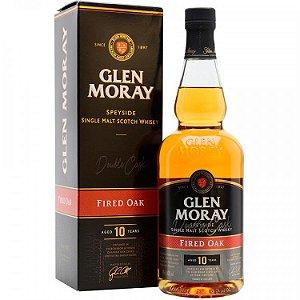 Whisky Glen Moray 10 Anos - Fired Oak - Single Malt - 700ml