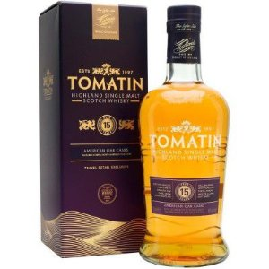 Whisky Tomatin 15 Anos - American Oak Casks - Single Malt - 700ml