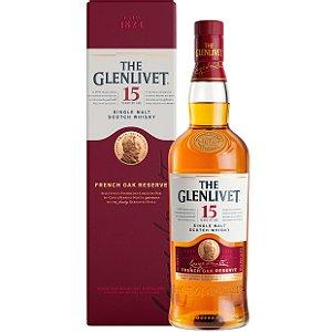 Whisky The Glenlivet 15 Anos - Single Malt - 750ml