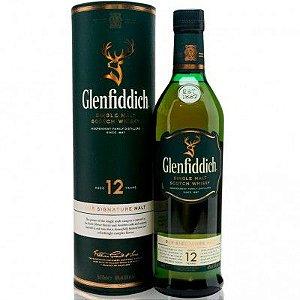 Whisky Glenfiddich 12 Anos - Single Malt - 1000ml