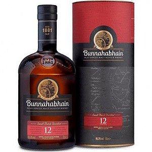 Whisky Bunnahabhain 12 Anos - Single Malt - 700ml